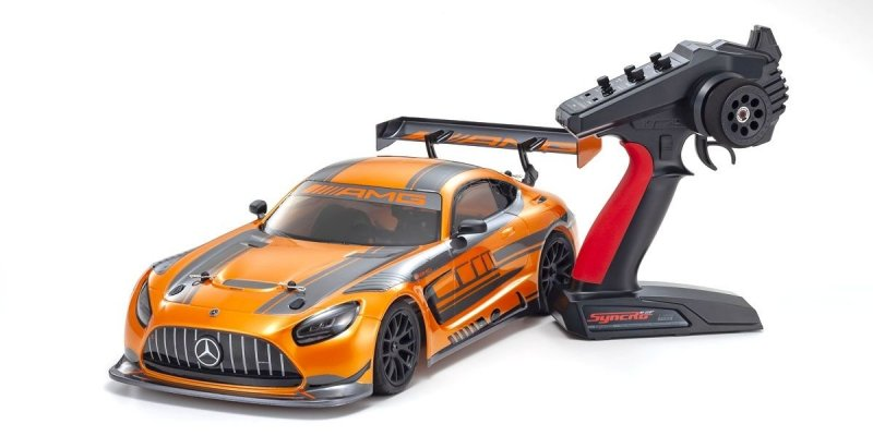Kyosho 34424 - 1:10 Scale Radio Controlled Electric Powered 4WD FAZER Mk2 FZ02 Series readyset 2020 Mercedes-AMG GT3