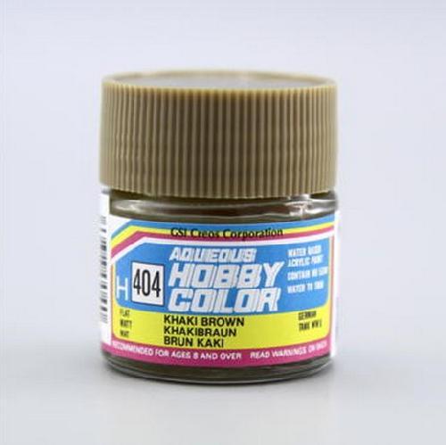 Mr Hobby Gsi H404 Khaki Brown Flat 10ml Gunze Aqueous