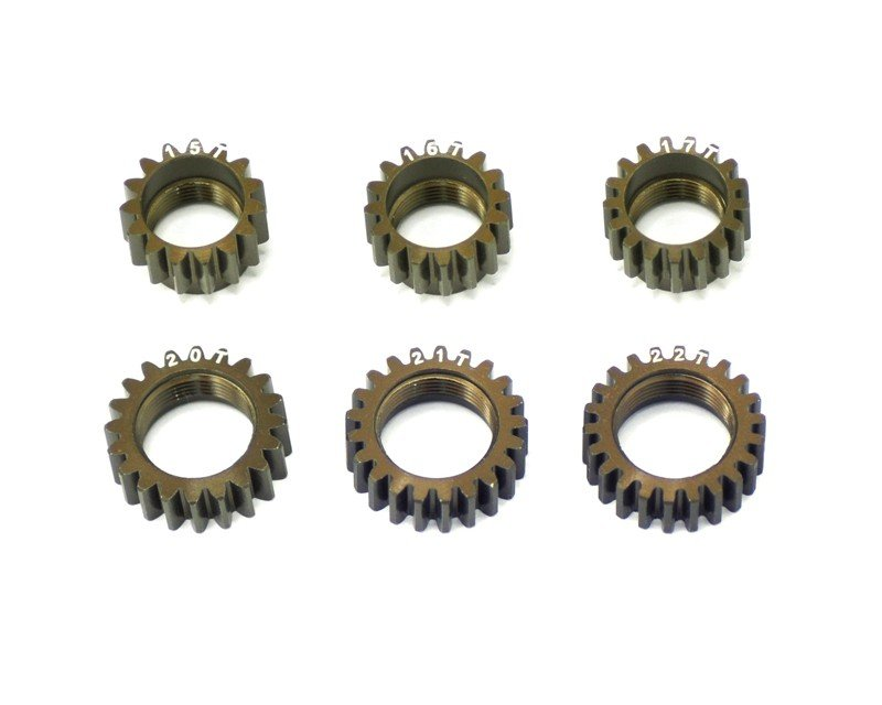 Serpent 804387 Centax-3 gear-pinion Aluminium set wc (6) V2