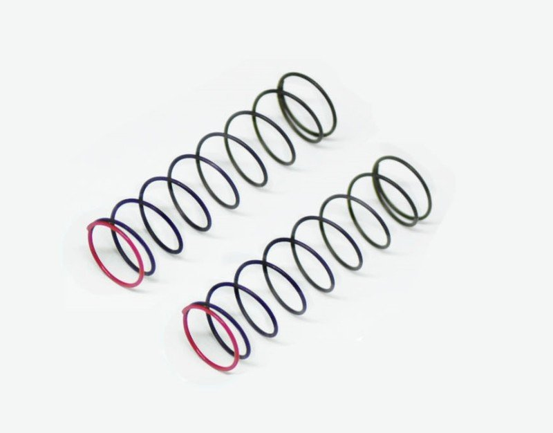 Serpent 500231 Shock Spring red 2 1lbs rr (2) SRX2