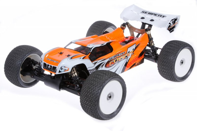 Serpent 600039-O Serpent Cobra E-Truggy RTR Orange