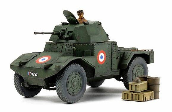 Tamiya #32411 - 1/35 French Armored Car AMD35 (1940)