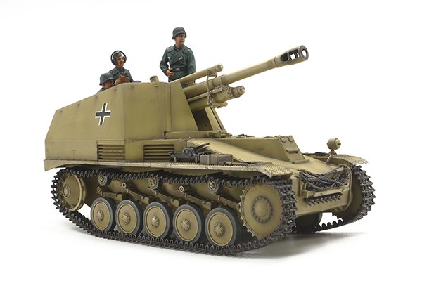 Tamiya #35358 - 1/35 German Self-Propelled Howitzer Wespe 'Italian Front'
