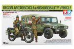 Tamiya #25188 - 1/35 JGSDF Reconnaissance Motorcycle & High Mobility Vehicle Set