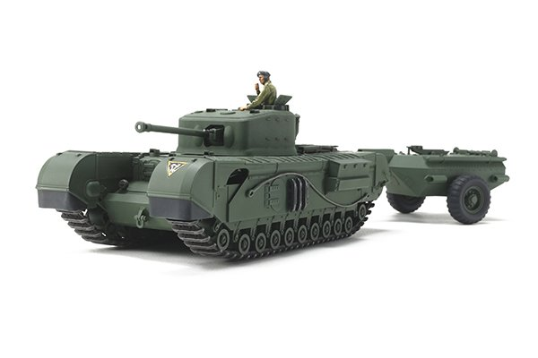 Tamiya #32594 - 1/48 British Tank Churchill Mk.VII Crocodile