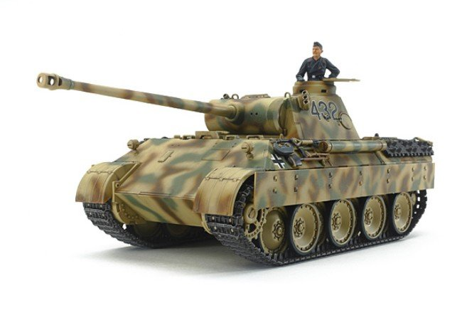 Tamiya #32597 - 1/48 German Tank Panther Ausf. D