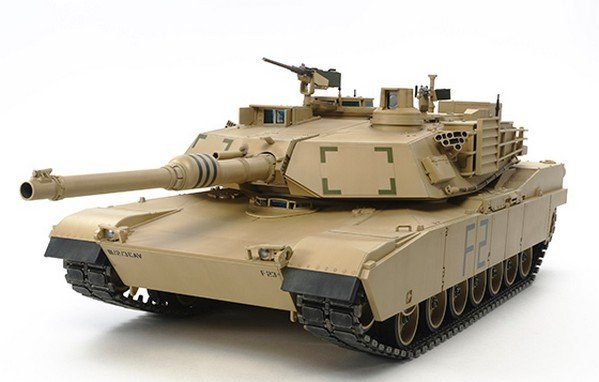 Tamiya #56041 - 1/16 U.S. Main Battle Tank M1A2 Abrams Full-Option Kit