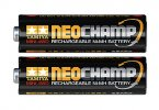 Tamiya #15420 - Neochamp Rechargeable Mini 4WD Ni-MH Battery (2pcs.)
