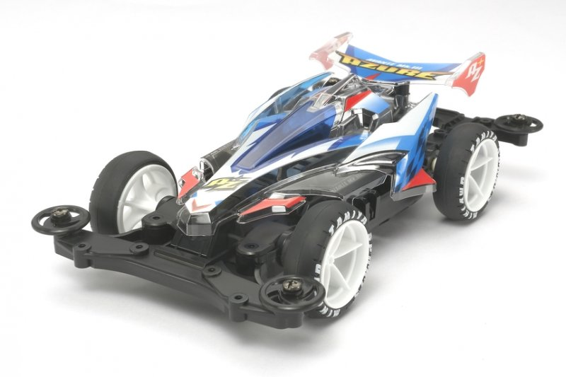 Tamiya #95464 - Avante Mk.III Azure Clear Special (Polycarbonate Body) MS Chassis