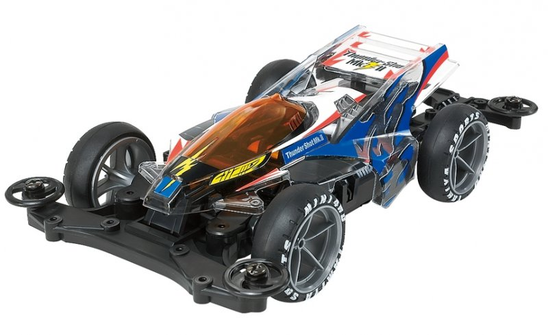 Tamiya #95463 - Thunder Shot Mk.II Clear Special (Polycarbonate Body) MS Chassis