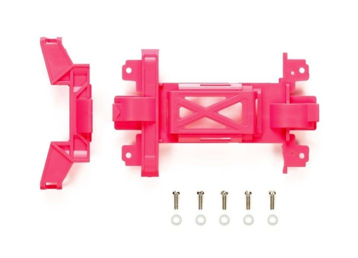 Tamiya #95484 - Reinforced Gear Cover (Pink, MS Chassis)