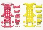Tamiya #94838 - VS Fl. Chassis Pink/Yellow