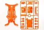 Tamiya #95028 - AR Fluorescence Color Chassis Set (Orange)