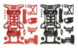 Tamiya #95242 - Super X Reinforced Chassis Red/Black