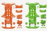 Tamiya #95355 - VS Fluorescent Chassis Orange/Green