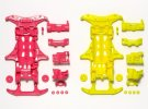 Tamiya #95356 - VS Fluorescent-Color Chassis (Pink/Yellow)