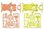Tamiya #95479 - Super-XX Fluorescent Chassis Set (Orange/Yellow)