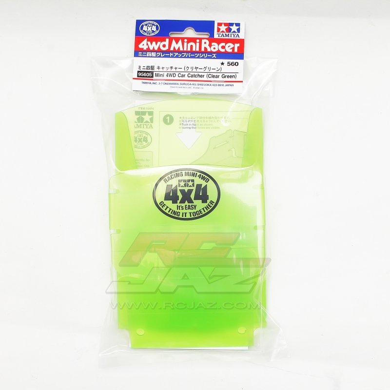 Tamiya #95605 - Mini 4WD Car Catcher (Clear Green)
