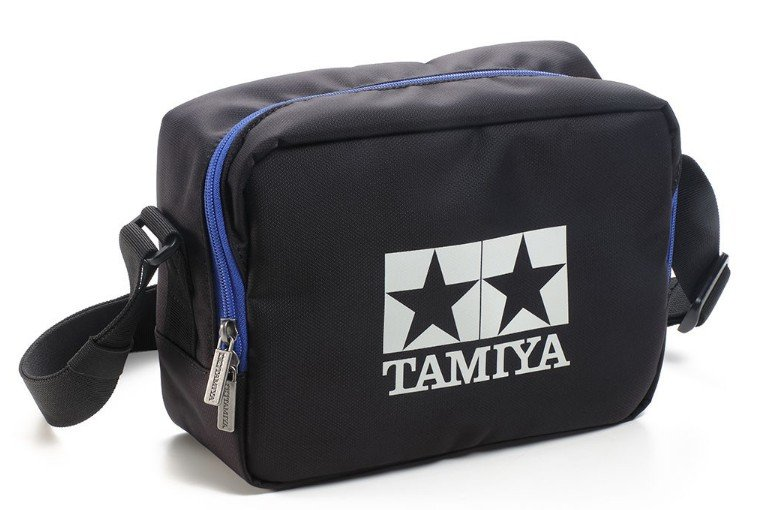 Tamiya #67406 - Tamiya Shoulder Case II Black/Blue
