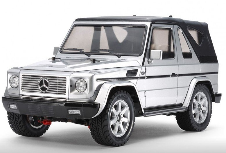 BLACK Rubber Sealed Ball Bearings FOR TAMIYA 58629 Mercedes-Benz G320 MF-01X