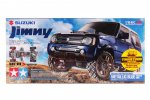 Tamiya #58621 MV-01X | 1/10 RC Suzuki Jimny (JB23) Painted Metallic Blue Body
