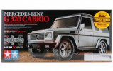 Tamiya #58635 - 1/10 Mercedes Benz G320 Cabrio Silver Painted Body Version (MF-01X)
