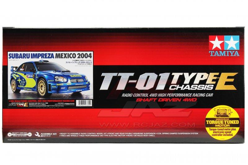 Tamiya 1//10 RC Car Series Subaru Impreza 2004 Mexico TT-01 Chassis TYPE-E 47372