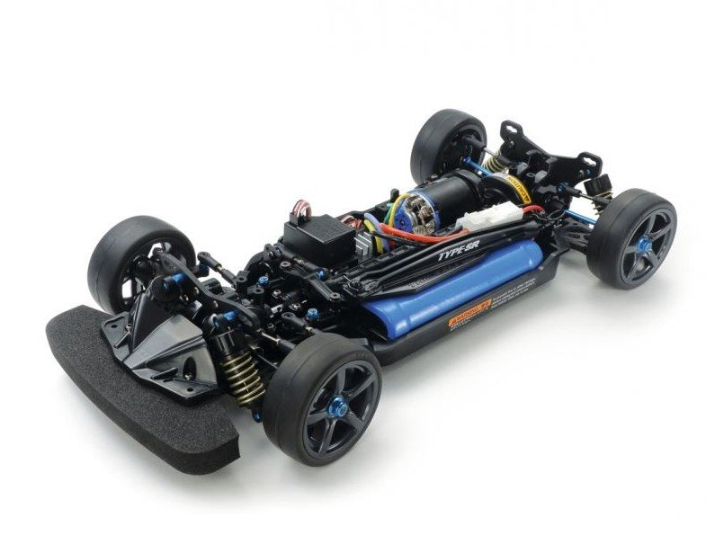 For Tamiya TT01D Double Metal Rubber Sealed Ball Bearing TT-01D Chassis BLUE