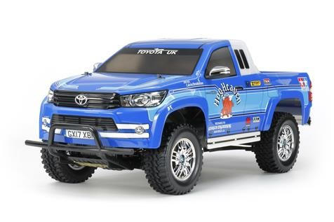 Tamiya #58663 - 1/10 Toyota Hilux Extra Cab (CC-01 chassis)