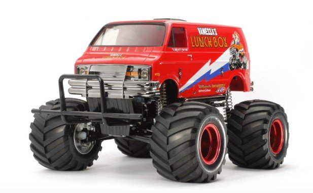 Tamiya #47402 - 1/12 Lunch box Red Edition (CW-01 Chassis)
