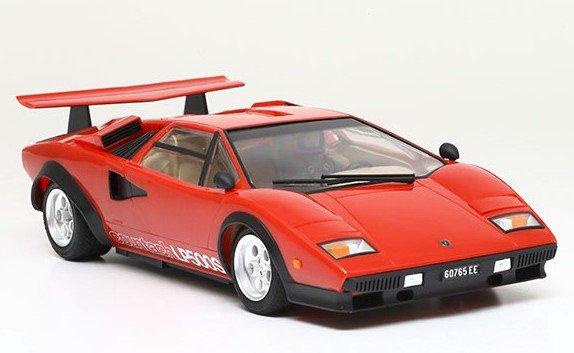 Tamiya 25419 1 24 Lamborghini Countach Lp500s Red Plated