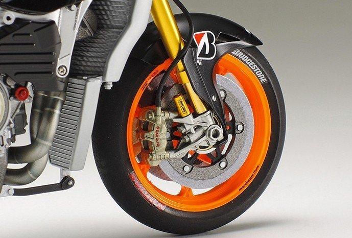 TAMIYA 12667 Honda RC213V 2014 Detail Up Parts Series No.67 Front Fork set F//S