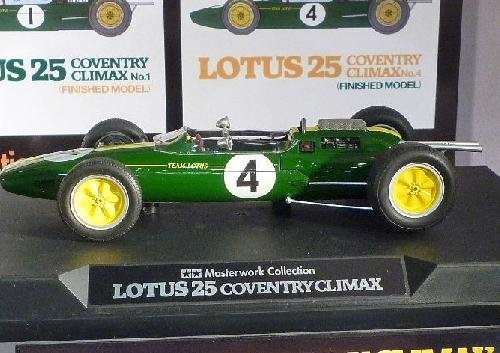 Tamiya #21141 - 1/20 Lotus 25 Coventry Climax No.4 (Finished Model)
