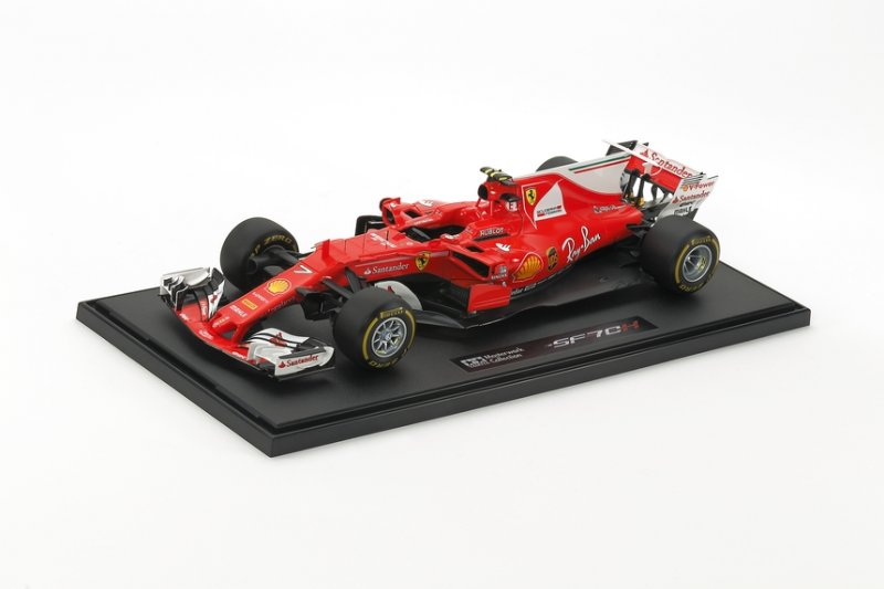 Tamiya #21164 - 1/20 Ferrari SF70H No.7 (Finished Model)