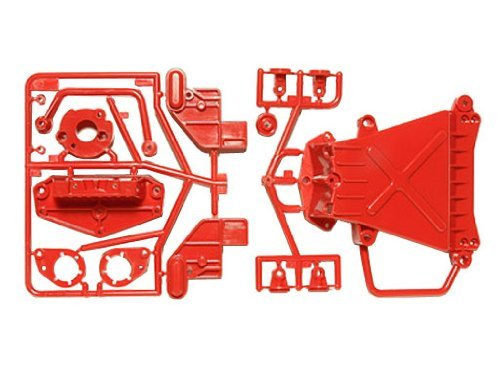 Tamiya #84345 - RC CW-01 D Parts (Under Guard) Red Style
