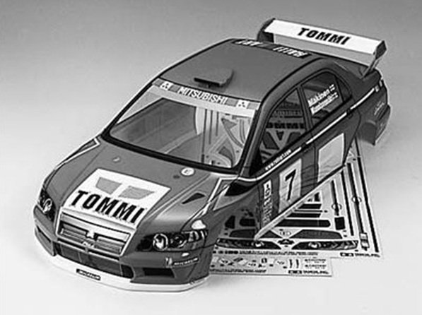 Tamiya #50927 - 1/10 Lancer Evo.VII WRC Body Parts