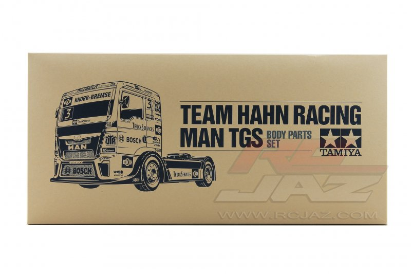 TAMIYA 51606 1//14 RC Team Hahn Racing MAN TGS Body Parts Set