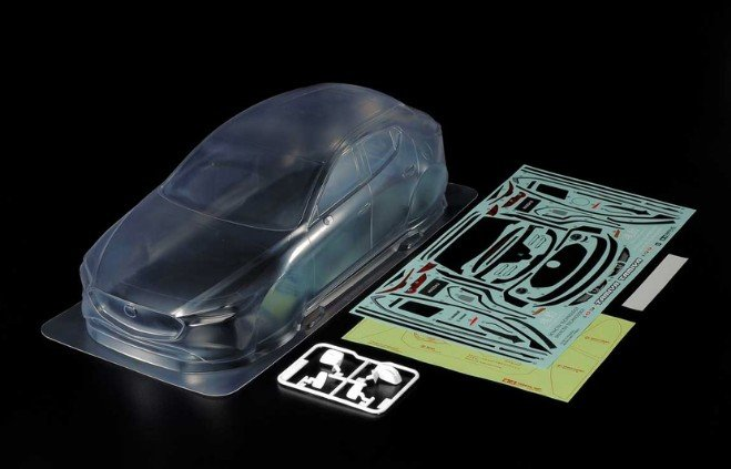 Tamiya #51619 - Mazda3 Body Parts Set