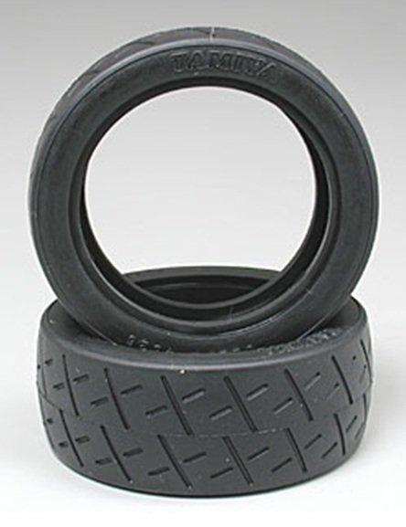 Tamiya 50810 1//10 RC Racing Semi-Slick Tires