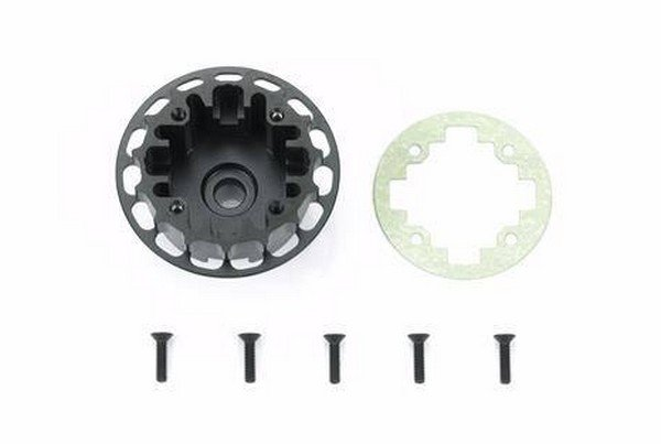 Tamiya #42325 - 37T Aluminum Gear Differential Case TRF419