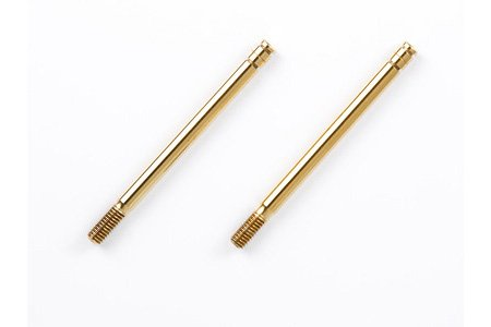 Tamiya #54042 - RC 40.7mm Titanium Coated - Piston Rod (2 pcs) TRF501X Hard Titanium Coated Piston Rod F
