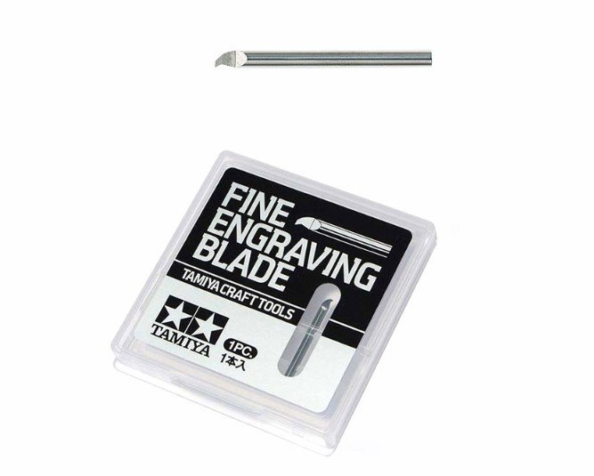 Tamiya #74145 - Fine Engraving Blade 0.15mm