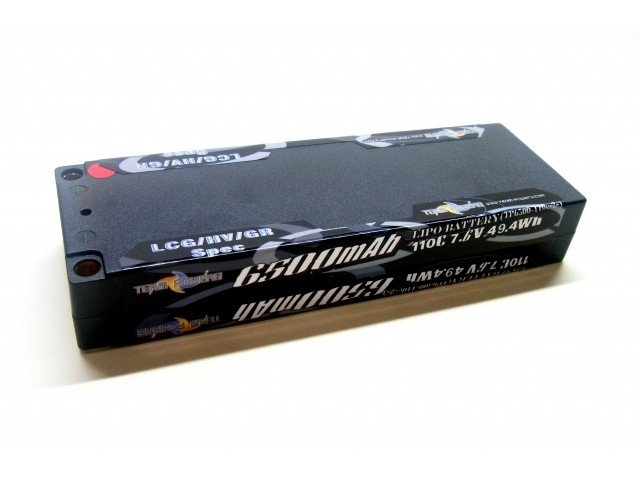 TEAMPOWERS 7.4V 6500mAh 110C LiPo battery (TP-6500-110C-2s)