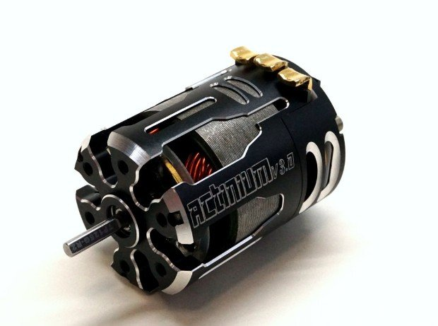 Team Powers Actinium V3 4.5 T~10.5T, 13.5T, 17.5T, 21.5T,25.5T Turn Brushless Sensored Motor (TP-BLM-XXX100ACT-V3)