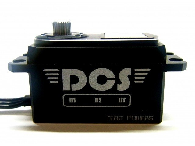 TEAMPOWERS Digital Coreless Servo (Low Profile, Aluminum  Casing ) (TP-DS1305)