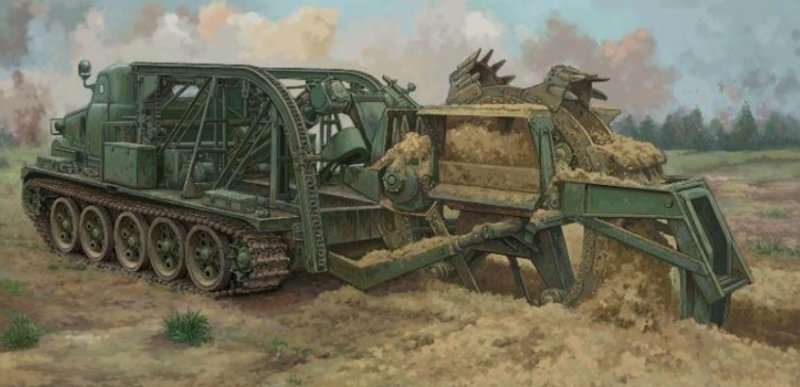 Trumpeter 9502 - 1/35 BTM-3 High-Speed Trench Digging Vehicle