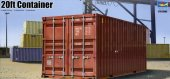 Trumpeter 01029 - 1/35 20ft Container