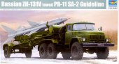 Trumpeter 01033 - 1/35 Russian Zil-131V Towed PR-11 SA-2 Guideline