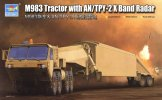 Trumpeter 01059 - 1/35 M983 Tractor with AN/TPY-2 X Brand Radar