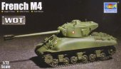 Trumpeter 7169 - 1/72 French M4 Tank